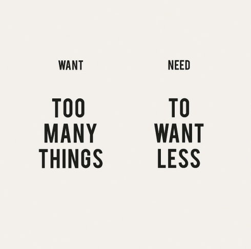 Want vs. Need